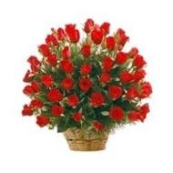 Cesta de 100 rosas