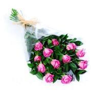 Bouquet de doce rosas rosadas