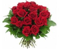 Bouquet de valentín de 12 rosas